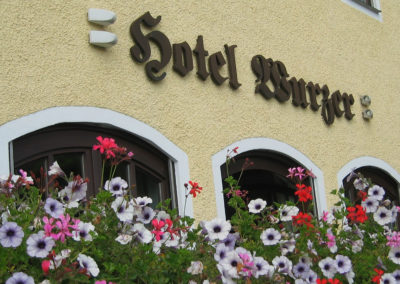 Hotel Wurzer - Blumenpracht