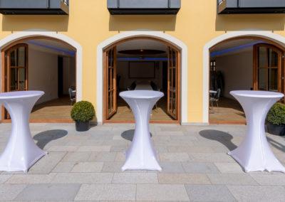 Hotel Wurzer - Empfang auf Sonnenterasse