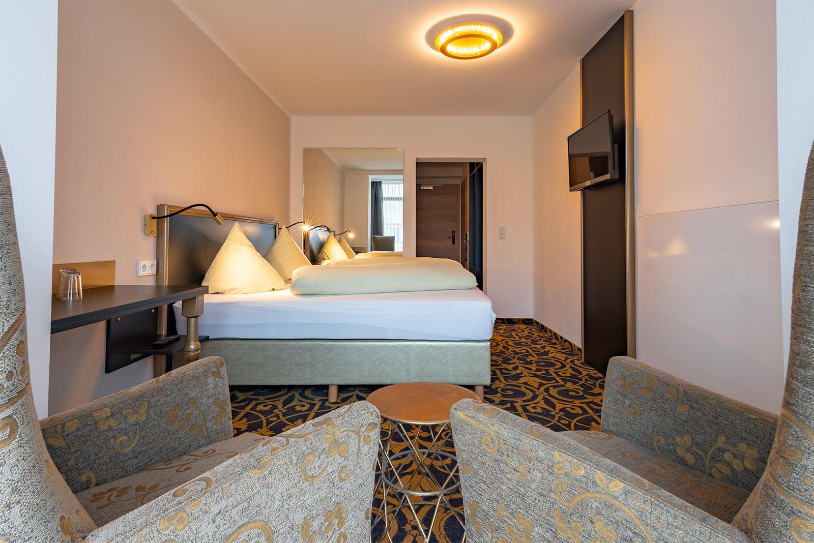 Komfort-Doppelzimmer, Beispielansicht