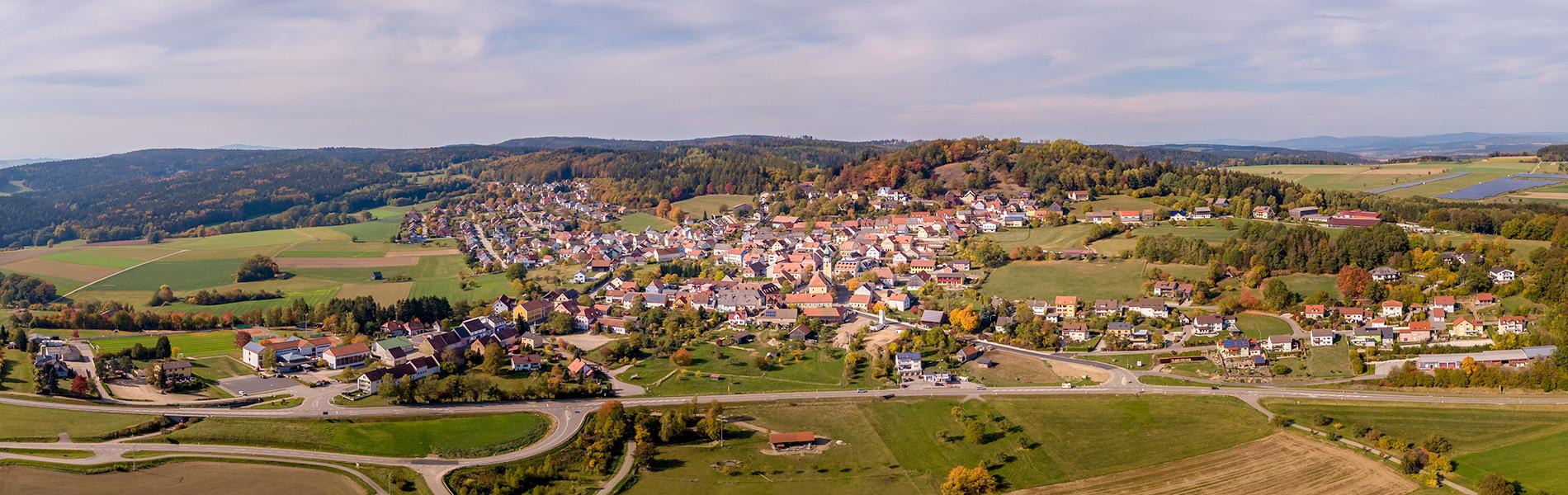Luftaufnahme Tannenberg